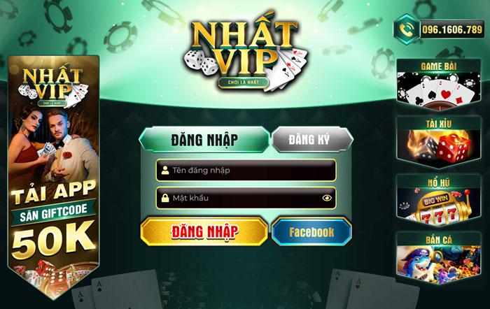 Nhatvip game bài đánh bài đổi thưởng uy tín 2020