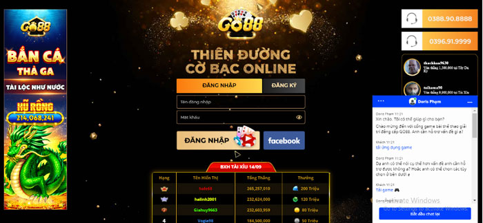 Go88 thiên đường game bài đổi thưởng online
